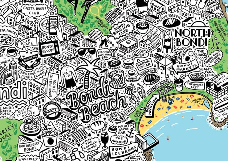 Meet The Artist Drawing Intricate Maps Of Melbourne And Sydney