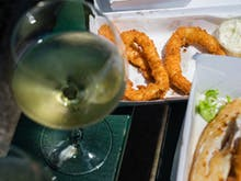 Raise A Glass, You Can Now Add Booze To Your Takeaway Food Order