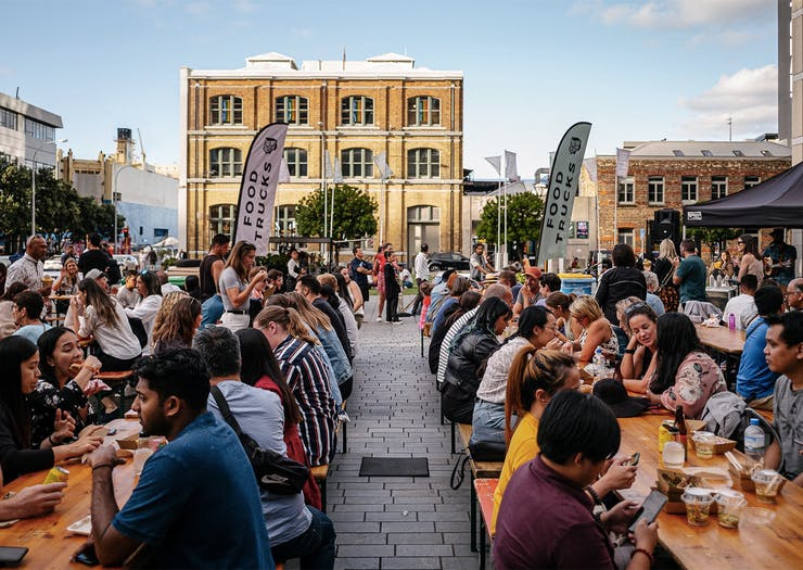Get Excited, Themed Food Truck Fridays Are Coming To Britomart All April Long