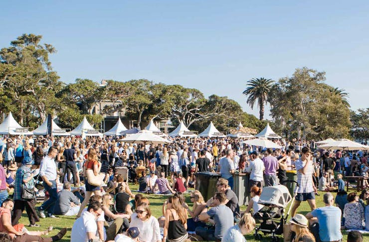 Our Fave Food & Wine Festival Is Back!