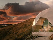 This Epic Dome Tent High In The Taupo Hills Is Your Next Glamping Getaway