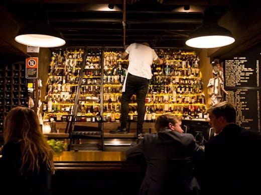 the baxter inn sydney bar