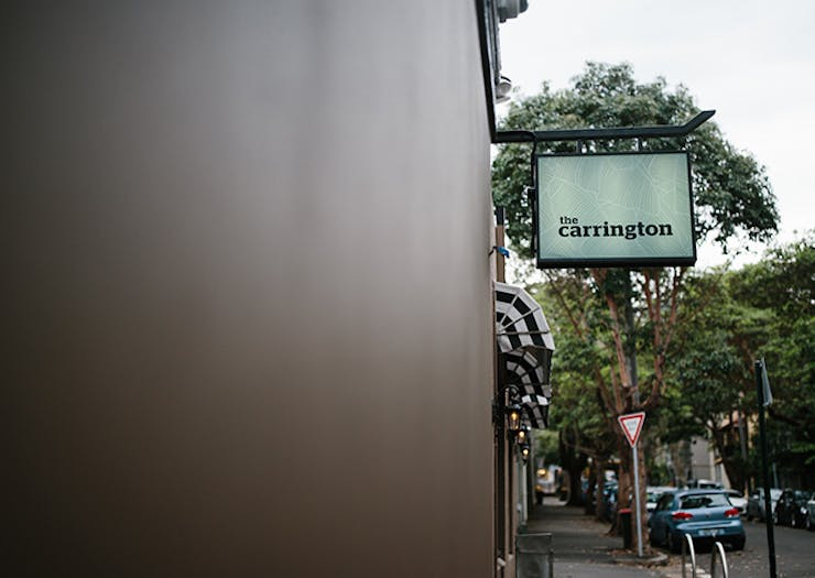 the carrington surry hills pub