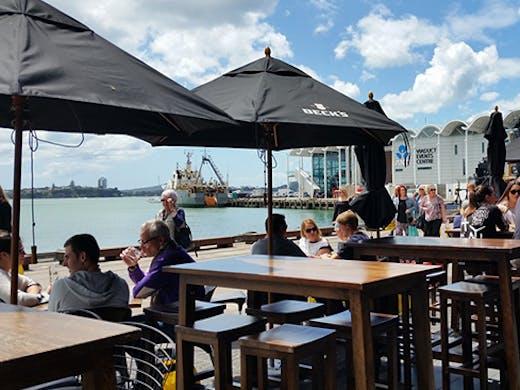 Wynyard Quarter Restaurants, Restaurants with a view Auckland, Restaurants near the ocean Auckland