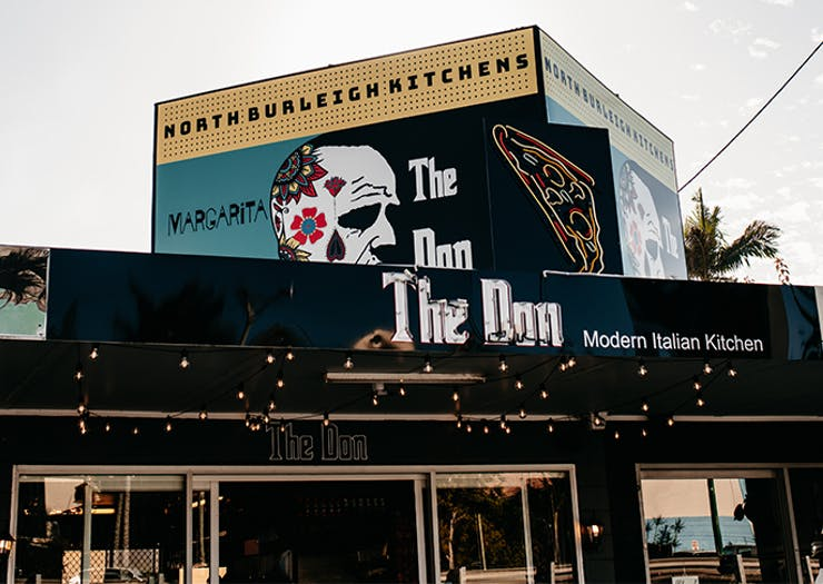 The exterior of The Don.