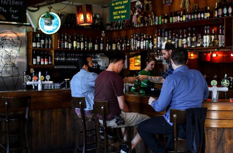 The Gem Bar and Dining Room bar
