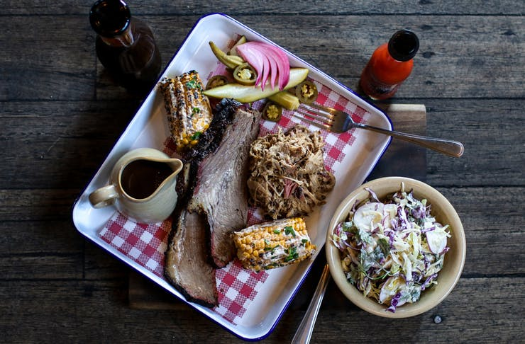 The Gem Bar and Dining Room barbecue