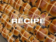 Get Baking This Weekend With The Grumpy Baker's Choc Chip Hot Cross Bun Recipe