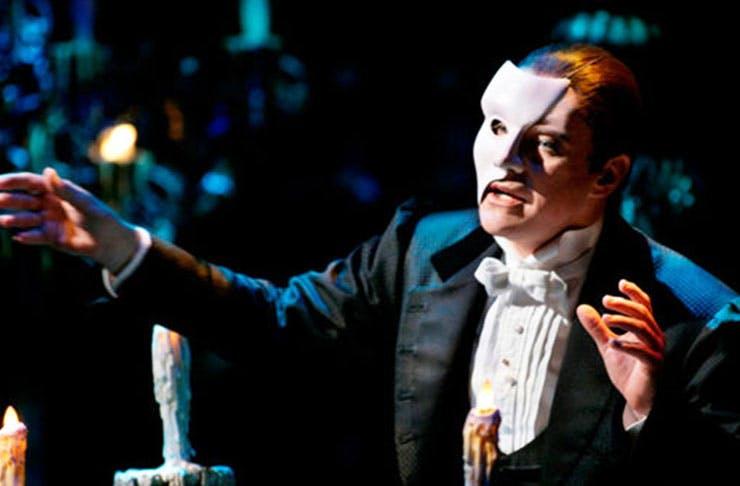 phantom of the opera, auckland review, phantom of the opera auckland