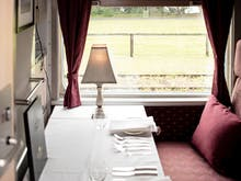 All Aboard Victoria's Classy New Restaurant Train