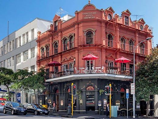 Auckland Bars, Historic Auckland Restaurants, Auckland Restaurants, Auckland pub, Auckland brewery