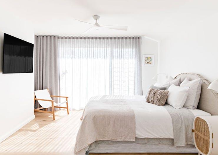 A bedroom at The Shore Gerringong