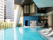 Brisbane, We Just Scored Our First Ever Swim-Up Pool Bar!