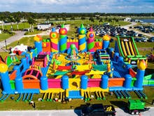 Get Bouncing, The World's Largest Inflatable Bouncy Castle Is Coming To Perth