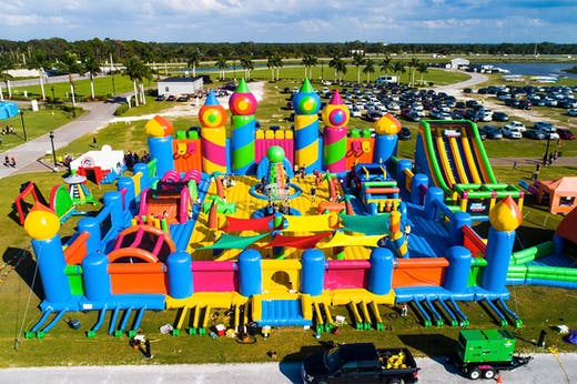 Get Bouncing, The World's Largest Inflatable Bouncy Castle Is Coming To Melbourne