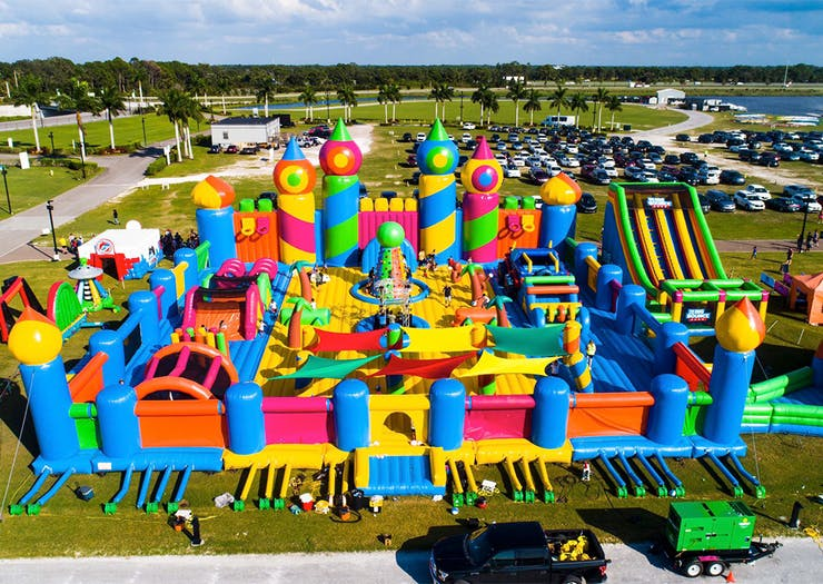 Get Bouncing, The World's Largest Inflatable Bouncy Castle Is Coming To Brisbane