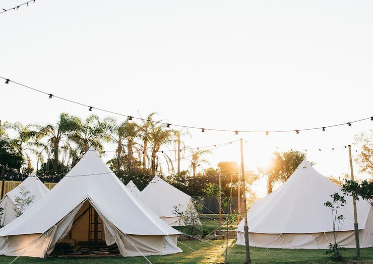This New Beachside Glamping Spot Is Your Next Chilled Weekend Escape