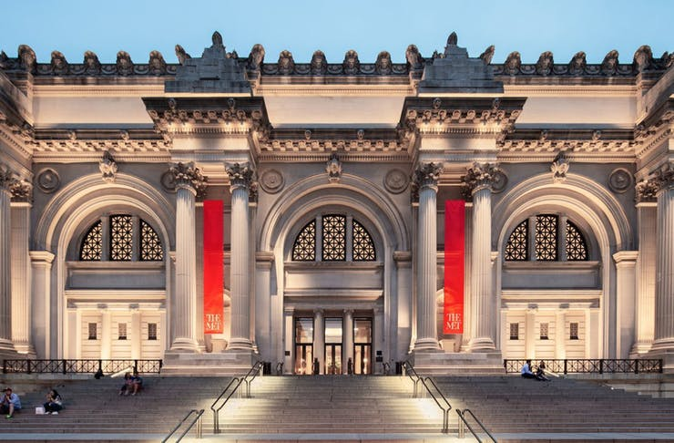 Exterior of The Met in New York