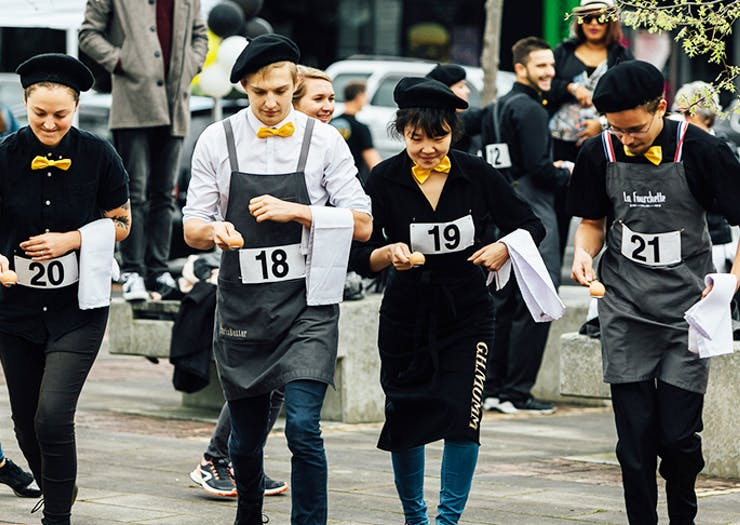 There's A Search On For Auckland's Best Waiter