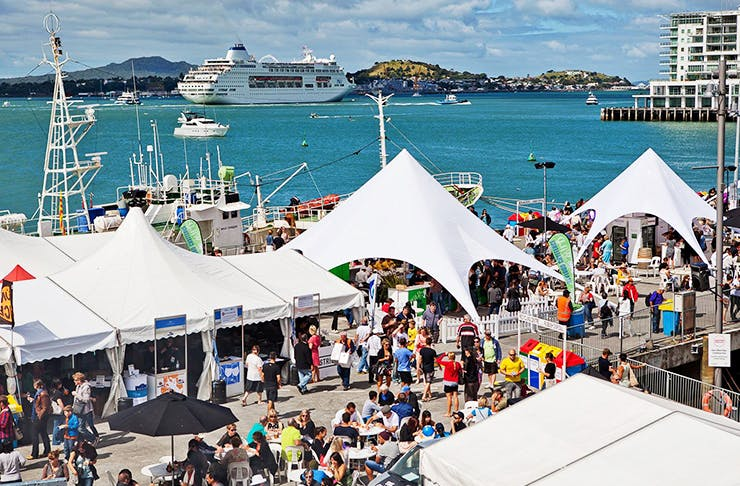 what's on auckland anniversary weekend, things to do auckland anniversary weekend, events auckland, seafood festival auckland