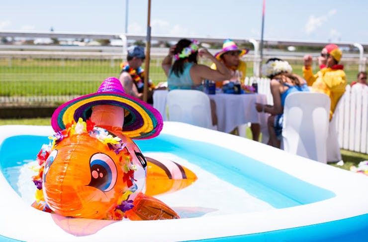 Things to Do Brisbane Racing Club Beach Party