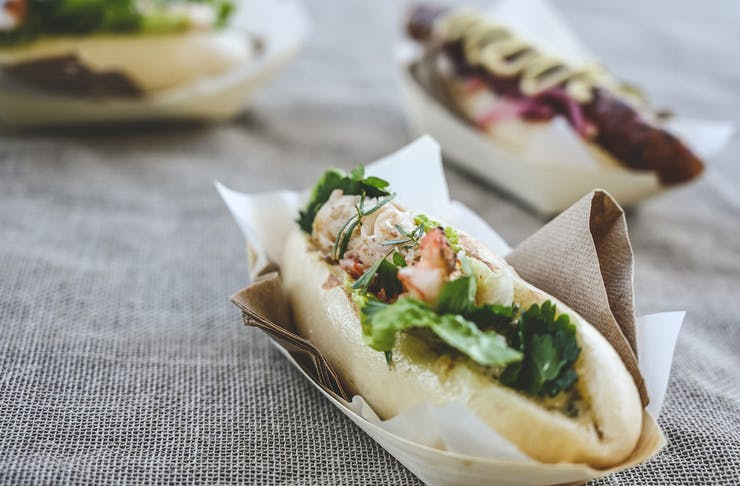 best things to do down south - grill days eats at Voyager Estate