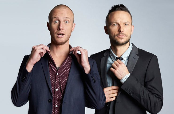 things to do in auckland, what's on in auckland, jono and ben, flashdance