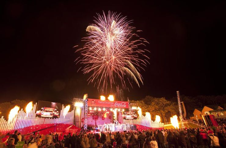 what to do this weekend in auckland, coca cola christmas in the park, silo park, things to do in auckland, weekend activities in auckland