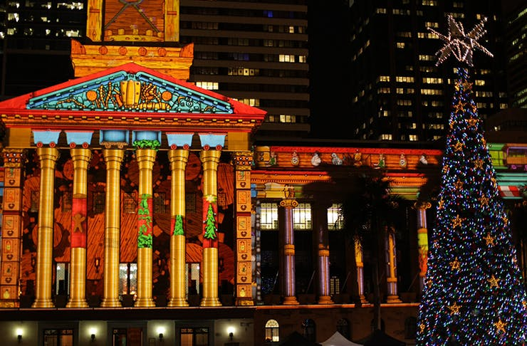 things to do in brisbane christmas