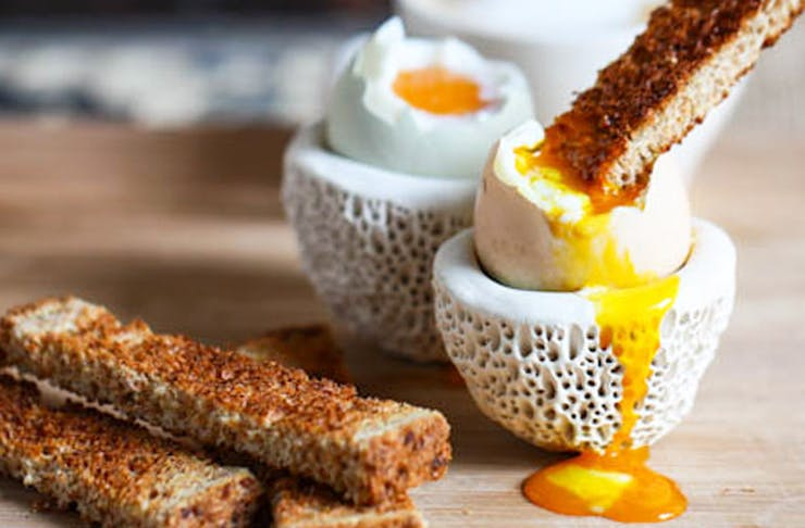 Three's A Trend: Dippy Eggs And Soldiers