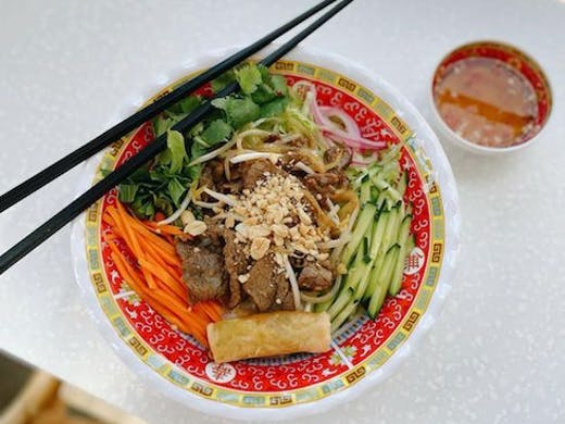 Vietnamese noodle bowl from Three Sisters Mount Lawley