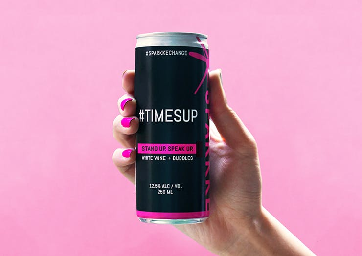The #TimesUp Tinnie Is Here So You Can Do Good (And Drink Good)