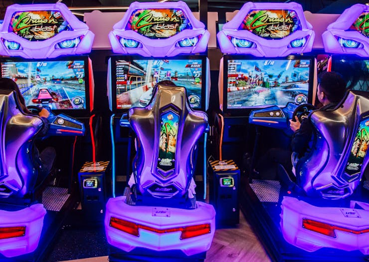 Unleash Your Inner Child, A Giant Games Arcade Is Opening On The Coast