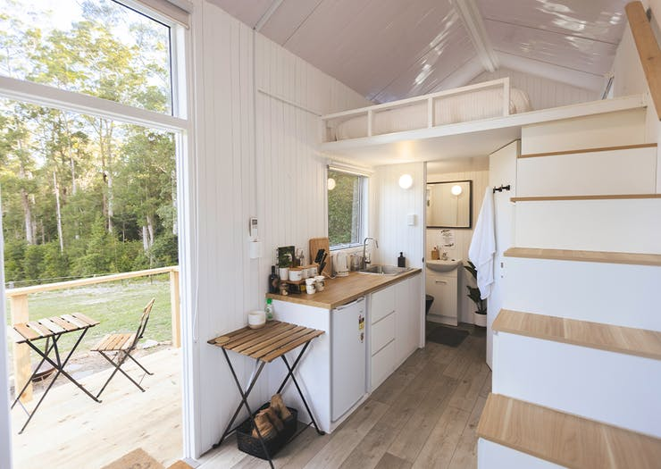 Live Out Your Loft Bed Dreams In This New Tiny House Stay In The Sunshine Coast Hinterland