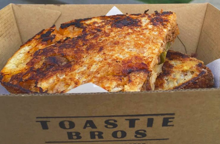 A Toastie Pop-Up Has Landed In Auckland