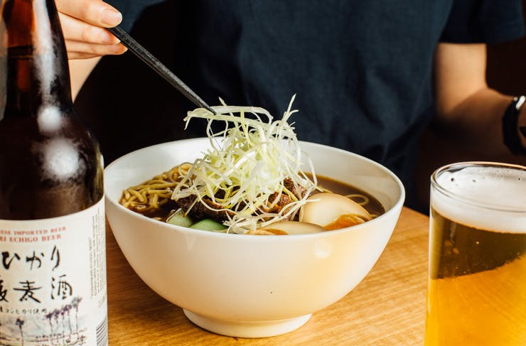 Here's How To Make Tokyo Tina's Delicious Smoked Brisket Ramen
