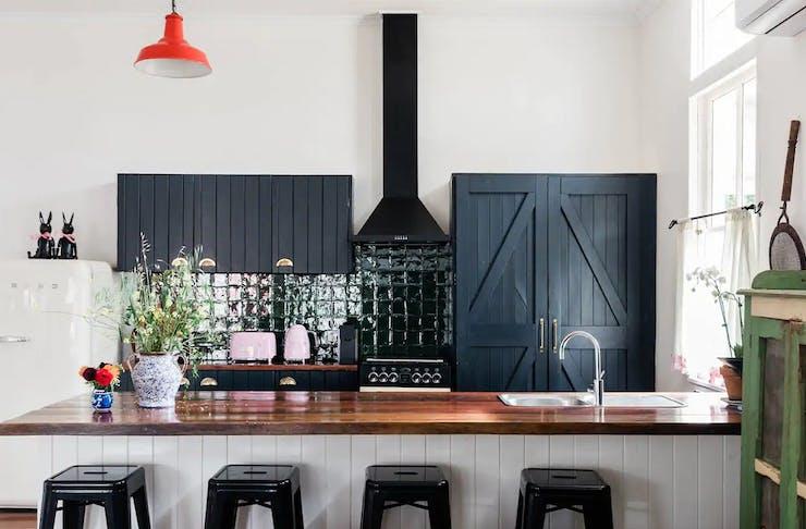 kitchen at norwood cottage