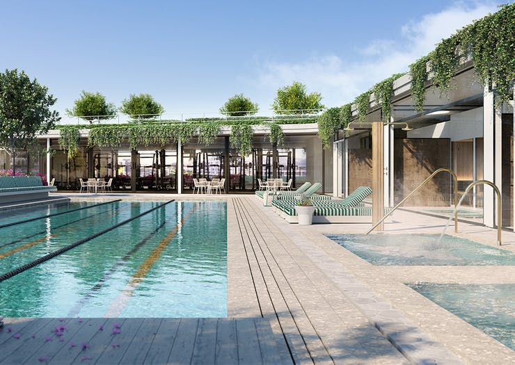 Total Fusion's New Rooftop Wellness Centre Will Have Hot And Cold Spas And A Snow Room