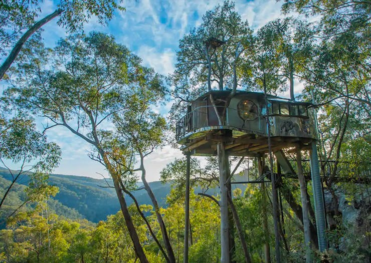 Take In The View From 7 Lofty Treehouse Stays On Airbnb Around Australia
