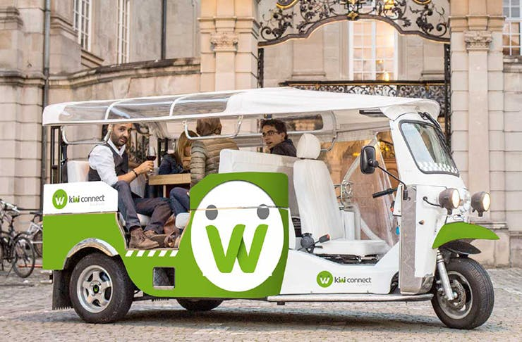 Kiwi Connect tuk tuks