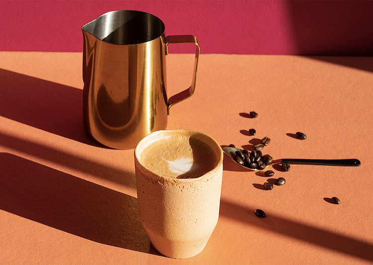 Get Sipping, Edible Coffee Cups Are Set To Become Your New Obsession