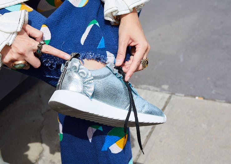 TWOOBS Is Launching A Sparkly New Sneaker This Week