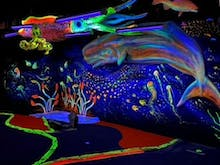Putter Up At This New Glow-In-The-Dark Underwater-Themed Mini Golf Course