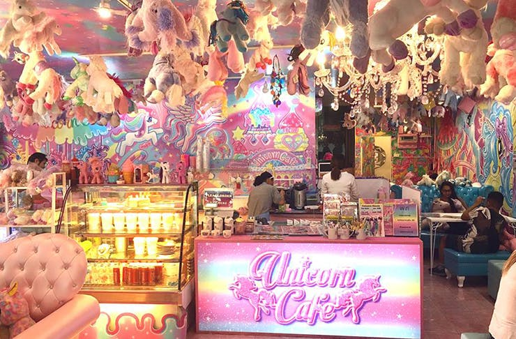 A Unicorn Café Exists And We Can't Even