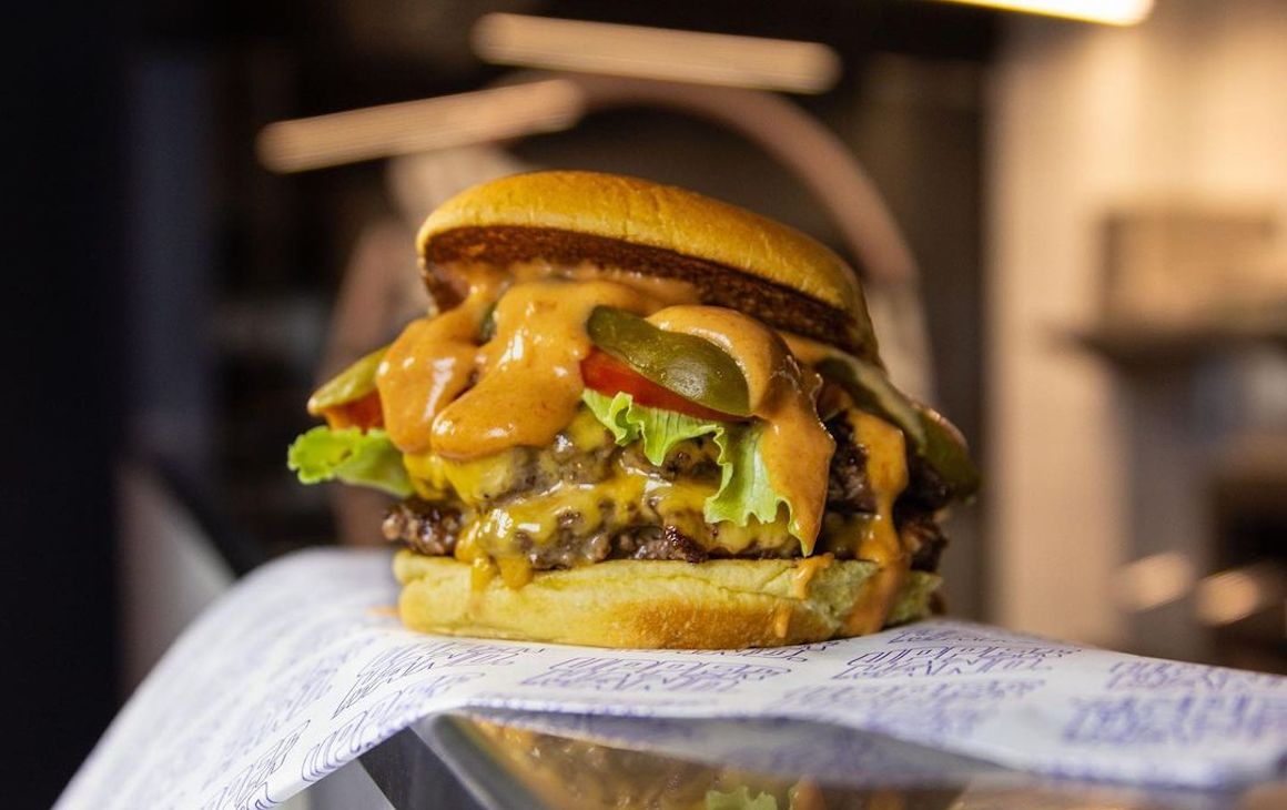 One of Perth's best burgers, Upperhand Burgers