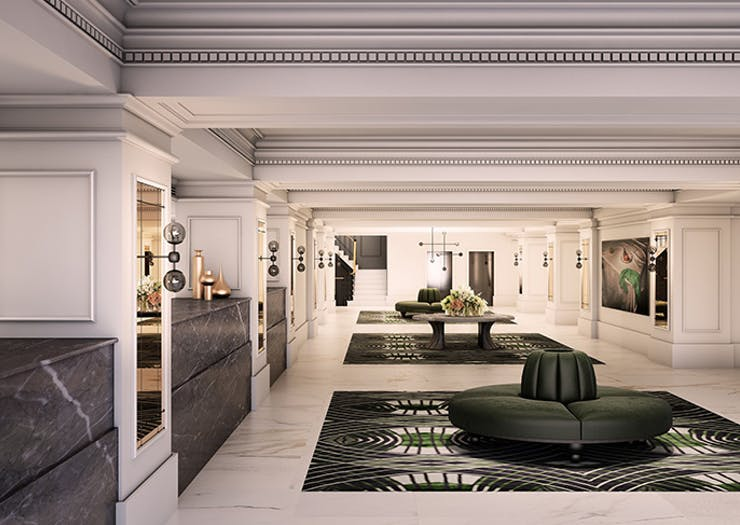 Melbourne's 152 Year-Old Hotel Is About To Launch An Art Deco Refurb