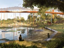 Start Daydreaming, Brisbane's New Victoria Park Could Include Rockpools And Tree Bridges