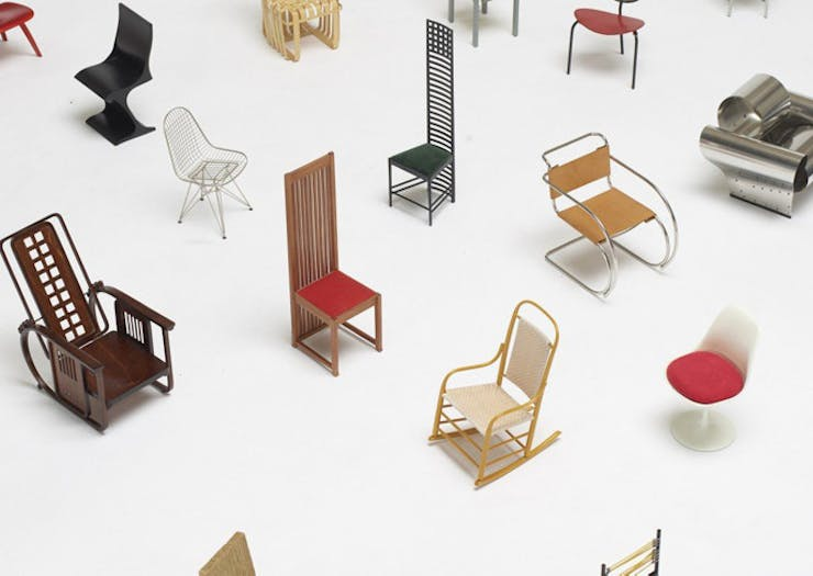 This Richmond Furniture Store Is Hosting An Exclusive Miniature Chair Exhibition