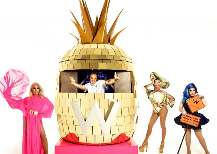 A Pineapple Caravan Is Doing The Rounds On Australia's East Coast