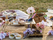 Take Your Picnics To The Next Level With These Epic Champagne-Filled Hampers